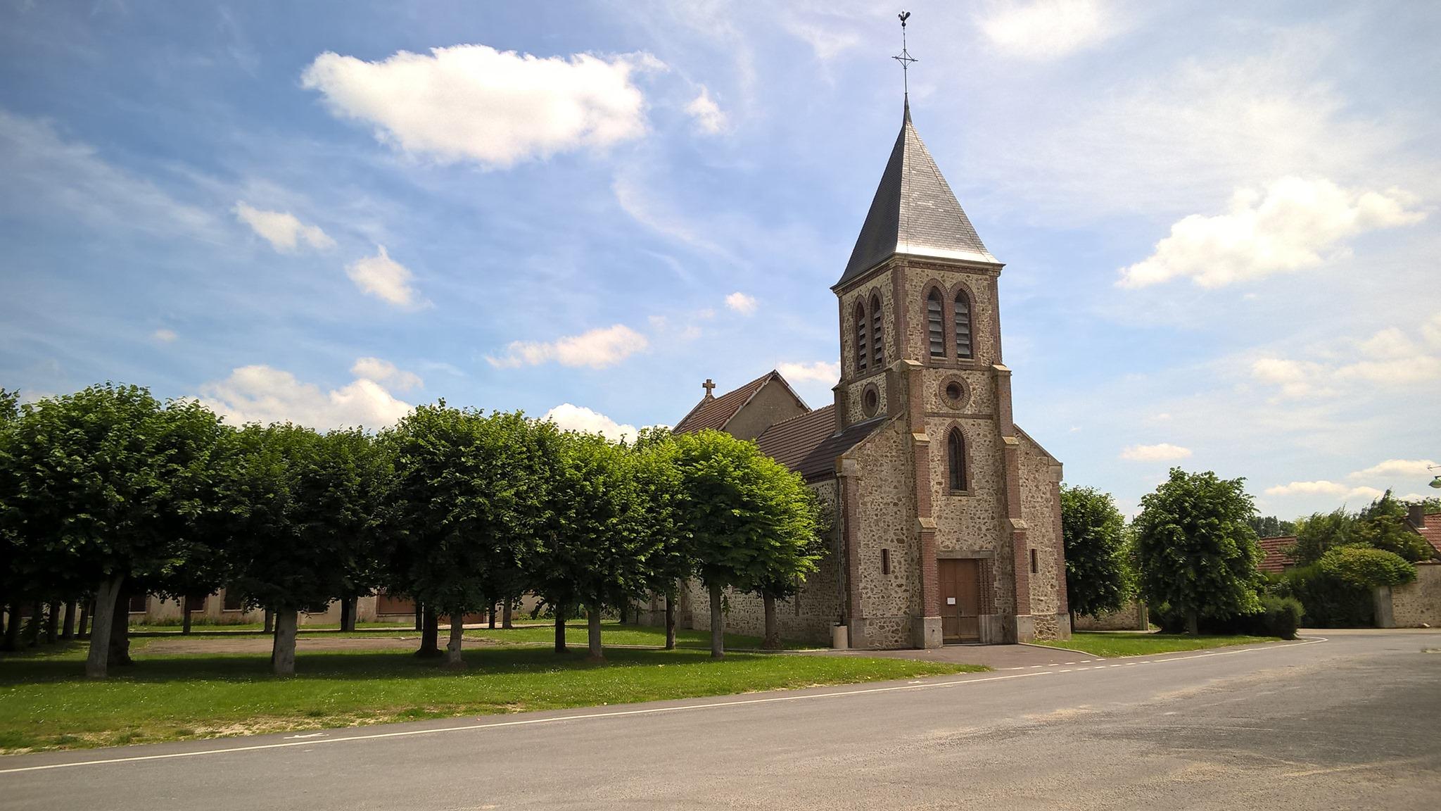 Eglise Esclavolles-Lurey - 2020